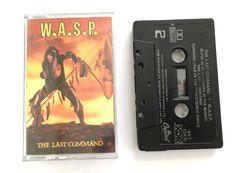 W.A.S.P.  The last command  vintage cassette tape audio