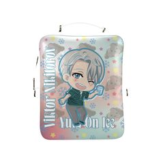 Yuri On Ice Viktor Square Backpack (Model 1618)