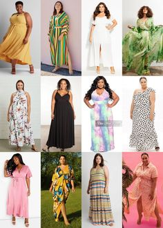 This summer has been one for the books. Plans changed, home-bound, and restless ways to find joy... HOWEVER, we have received a few asks and requests for a fun summer plus size maxi dress.     Fancy Something Relaxed and Cute? How About a Plus Size Maxi Dress?   #plussizefashion #plussize Edgy Outfits, Curvy Outfits, Plus Size Maxi Dresses, Plus Size Outfits, Plus Size Fashion Tips, Plus Fashion, Plus Size Designers, Plus Size Summer, Curvy Girl Fashion