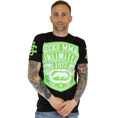 T-Shirt Ecko MMA Pennant black ★★★★★