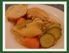Mennonite Girls Can Cook: Chicken Zharkovia (Russian Peasant Stew) Soup Recipes, Chicken Recipes, Recipies, Russian Chicken, Good Food, Yummy Food, Russian Recipes, Winter Food, Soups And Stews