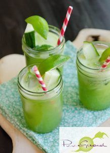 Exceptional A flat abdomen with ginger, cucumber and mint lemonade Informations About Een platte buik met. Juice Smoothie, Smoothie Drinks, Refreshing Drinks, Summer Drinks, Healthy Drinks, Healthy Recipes, Tapas, Healthy Life, Food And Drink