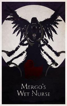 Bloodborne Minimal Poster - Mergo's Wet Nurse by Ob-servant