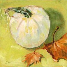 """""""White Pumpkin"""" by Sandy Haynes"""