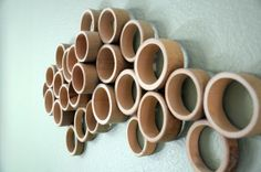Bamboo wall sculpture by HortNouveau ____ MORE WHIMSY home decor pins also on my other boards ;-) ____