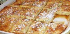 Μια συνταγή για ένα υγιεινό και υπέροχο πρωϊνό για όλη την οικογένεια με ψωμί του τόστ στο φούρνο