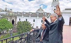 En Ecuador, líder de Morena dice que mantendrá la defensa de mexicanos