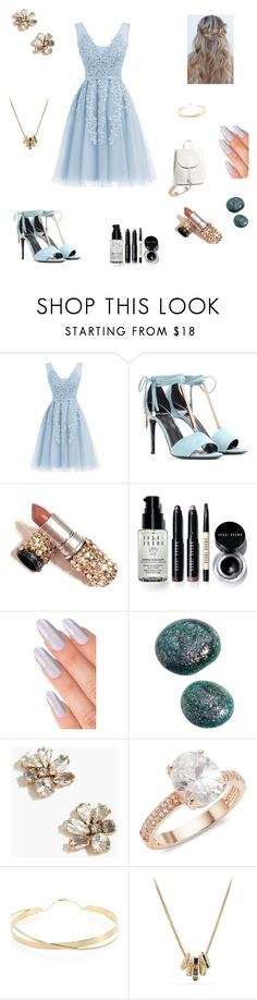 """""""Untitled #90"""" by artemis817 ❤ liked on Polyvore featuring Pierre Hardy, Bobbi Brown Cosmetics, J.Crew, Saks Fifth Avenue, Lana Jewelry, David Yurman and Everlane"""