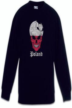 Poland Football Skull I Kids Boys Girls Pullover polish Soccer Flag World cc13f94c7