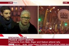"""BBC Reporter Tells French Jewish Woman That Palestinians Are Suffering At """"Jewish Hands"""" - BuzzFeed News"""