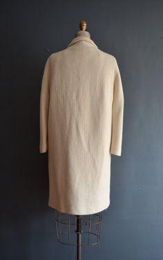 SALE 20% OFF 50s wool rhinestone coat / 1950s par BreanneFaouzi