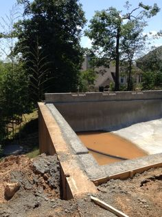 Brown Residence- pool poured