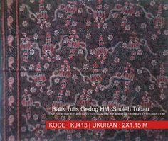 Motif Unyeng-Unyeng batik gedog tuban