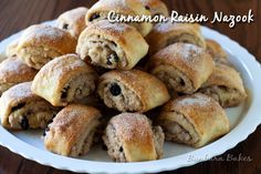 Cinnamon Raisin Nazook is a flaky, crisp, buttery, sweet, but not too sweet, Armenian pastry.