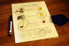 A listening sheet to use with young students.  As they listen to music, they can circle whether they hear high/low, loud/soft, fast/slow, etc. Put it in a sheet protector and give them a dry erase marker, they can reuse it over and over!