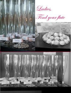 Make paper tags so the guests can label their glass