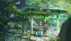Studio Ghibli, The Garden of Words (2013), Hayao Miyazaki THESE 10 STUDIO GHIBLI MOVIES WILL US CHERISH FOREVER