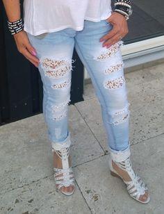 Mine nye bukser og sko ;)