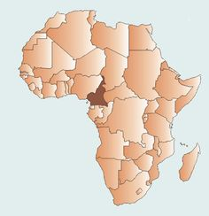 Mistakenly considered part of West Africa, Cameroon is located in Central Africa