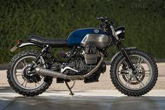 Moto Guzzi V7. I'd like to get into motocross a bit more, then graduate to a similar road bike.