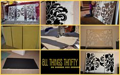 SYTYCD Week 7: Building Materials…Decorative Wall Art