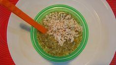 Brokolica, karfiol, mrkva, natural ryža, olivový olej a kuracie mäso