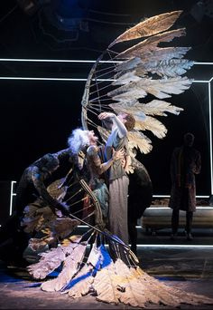 Angels in America at the National Theatre Set Design Theatre, Stage Design, Folies Bergeres, Theatre Costumes, National Theatre, Stage Set, Scenic Design, Design Inspiration, Character Inspiration