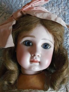 Rare French BEBE STEINER Fre A 15 all original, attic condition. 24 in.  #PintelGodchaux Postcard Book, Dog Pajamas, Real Beauty, Antique Dolls, French Antiques, Attic, Photo Art, Book Art, Conditioner