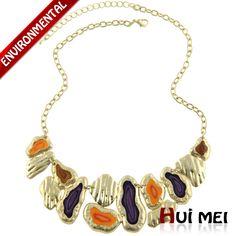 Новое поступление летом мода женщин красочные модные короткие звено цепи заявление ожерелья ювелирных изделийкупить в магазине Huimei Jewelry Co., Ltd.наAliExpress