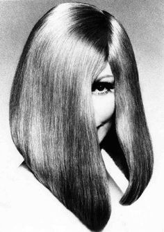 Haircut: Vidal Sassoon, 1960s. Photo: Barry Lategan. Interestingly, Sassoon's work was influenced by Bauhaus architecture. KA