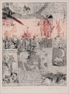 Adam Wurtz, Romeo and Juliet Romeo And Juliet, William Shakespeare, Art Journals, Ash, Illustrator, Vintage World Maps, Literature, Abstract, Artwork