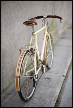 Wooden Fenders and more!    http://www.fastboycycles.com