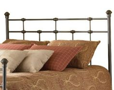 Amazon.com: Fashion Bed Group Dexter Headboard, Hammered Brown, Queen: Home & Kitchen