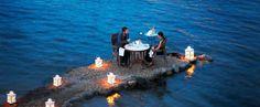 On this tiny peninsula in Mykonos, Greece.