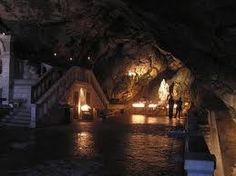 """The grotto of St. Mary Magdeline. Located in Sainte-Baume Southern France. A story of Repentance to """"Redemption"""". She is then said to have retired to a cave on a hill by Marseille, La Sainte-Baume (""""Holy Cave""""), where she gave herself up to a life of penance for thirty years. idlespeculations-terryprest"""