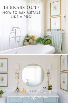 I often get asked how to combine metal finishes in lighting and hardware. The look of matching all your finishes is long gone (even when working with brass). Here are a few guidelines to help you mix metals like a pro. Sconce Lighting, Cool Lighting, Lighting Ideas, Off White Kitchens, Timeless Bathroom, Classic White Kitchen, Rustic Hardware, Shower Fixtures, White Bathrooms