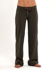 awesome pants for around the house and still look cute! lulu lemon!