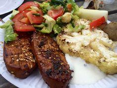 Teriyakimarinerade quornfiléer | Jävligt gott - en blogg om vegetarisk mat och vegetariska recept för alla, lagad enkelt och jävligt gott.