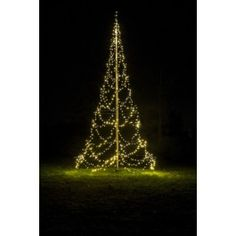 Flagpole LED Christmas Tree Kit for 20' flagpole with 960 LED count white lights - Telescoping Flag Poles - This Fairybell Christmas trees conversion kit for your flagpole is sure to convert your flagpole to a beautiful Christmas tree that will be the highlight of the neighborhood. Kits are backed by a 2 year warranty and utilizes the latest sealed LED lights.
