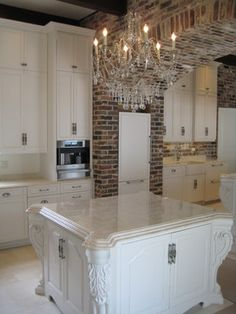 white macaubus quartzite kitchen-triton stone group of new orleans