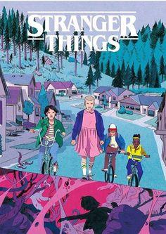 Stranger Things Print - Thomas Humeau