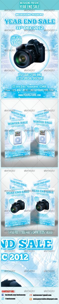 Year End Sale Flyer - GraphicRiver Item for Sale