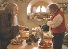 """I feel thin, sort of stretched, like butter, scraped over too much bread."" (Lord of the Rings)"