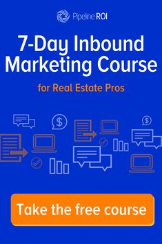 Learn the basics of inbound marketing, including the six steps of the inbound methodology and how they work for generating, nurturing, and closing more real estate leads. Finish the free course and get your official badge and certificate showing everyone Online Real Estate, Real Estate Leads, Real Estate Tips, Real Estate Business, Real Estate Investing, Real Estate Marketing, Inbound Marketing, Real Estate Courses, Real Estate Training