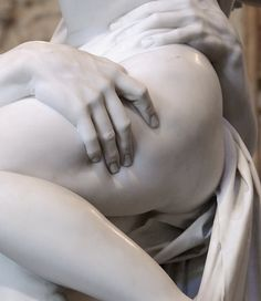 Detail of Pluto and Proserpina (The Rape of Proserpina) by Gian Lorenzo Bernini