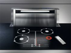 Retractable Cooker hood ADAGIO Architecture Collection by Elica