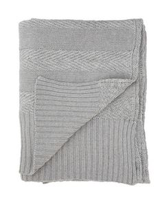 SpecificsThe blanket is knitted in a mix of wool and cotton. The Tactile Stripes blanket comes in three different combination . Nordic Design, Stripes, Colours, Wool, Blanket, Grey, Fabric, Crafts, Blue