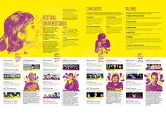 Festival Universitario on Behance