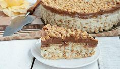 """Niesamowite ciasto bardzo przypominające w smaku ten batonik  przepis zmieniony .Ciasto zainspirowane przepisem pani Joli Caputy """"przepisy Joli"""""""