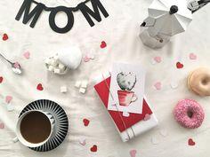 Glückwunschkarten - Postkarte Muttertag, Kaktus, mit Umschlag, Mothersday, Mom, Postcard